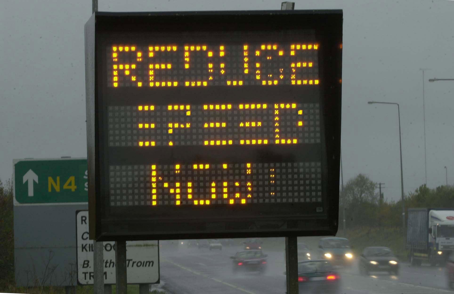 Stock image of UK road. Credit: PA