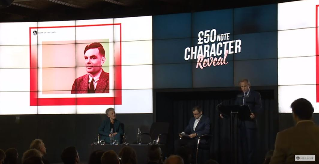 Codebreaker Alan Turing To Be On Britain's 50 Pound Note