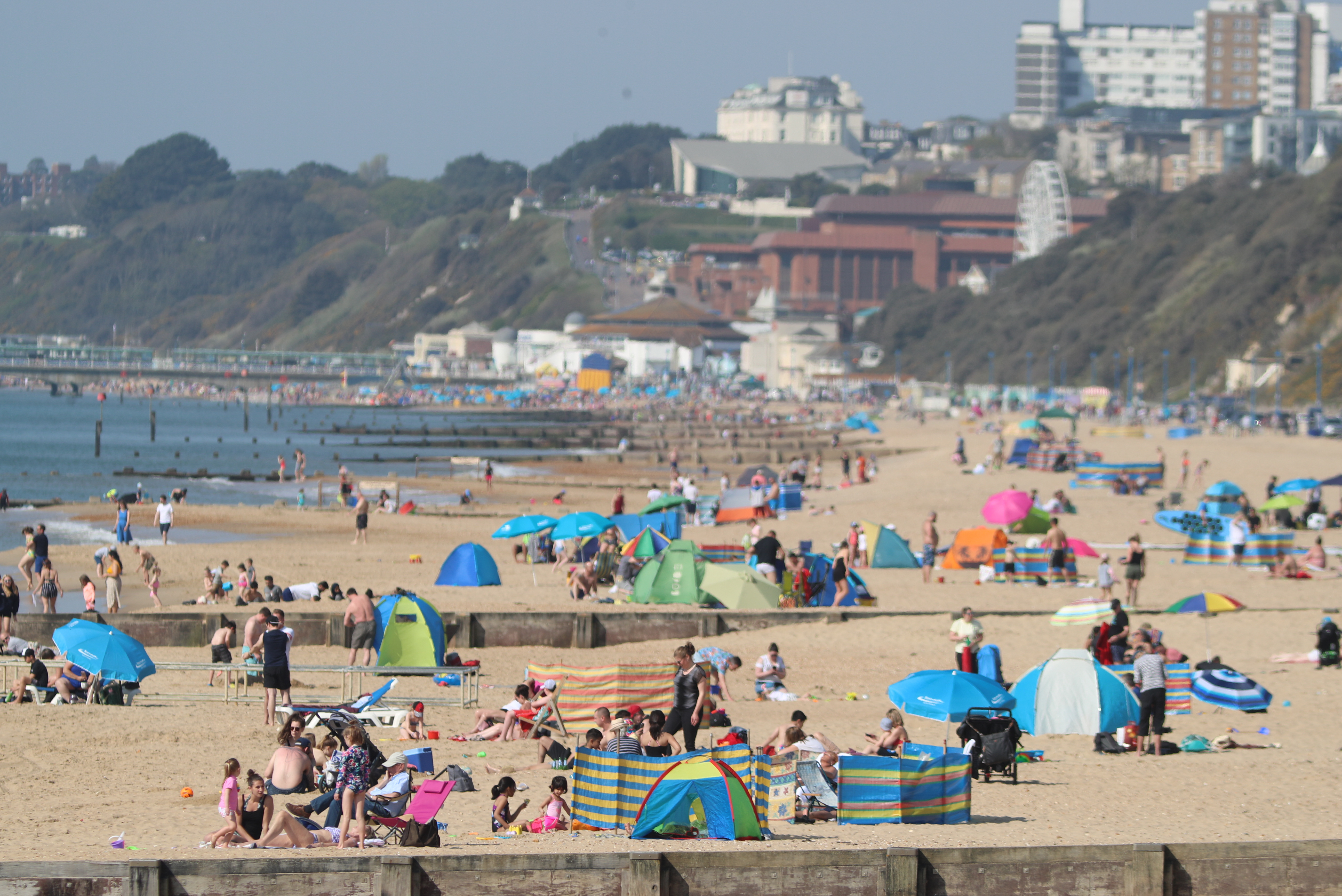 We've had a run of lovely weather recently and it looks set to stick around for a few more days. Credit: PA