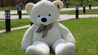 People Are Creeped Out By This Giant Teddy Bear That's All Legs