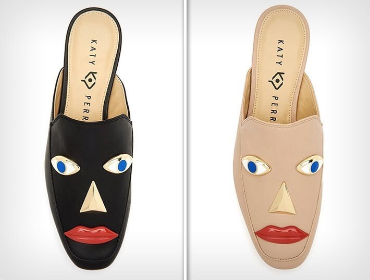 The shoes have been removed from sale following a backlash. Credit: Katy Perry Collections