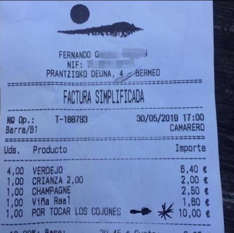 The bill. Credit: Twitter/Taberna Equzki