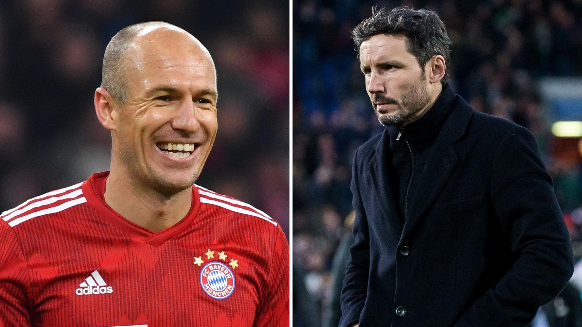 PSV Eindhoven Boss Mark Van Bommel Makes Contact With Arjen Robben Over Summer Move