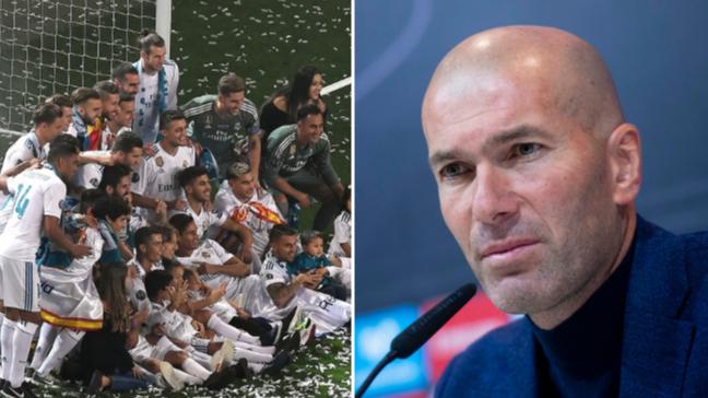 Zinedine Zidane Sent Real Madrid Players A Whatsapp Message After He Quit