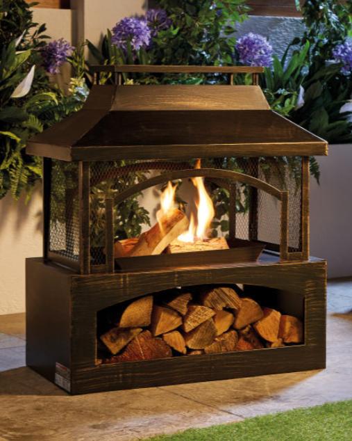 Aldi is also selling these log burners. Credit: Aldi