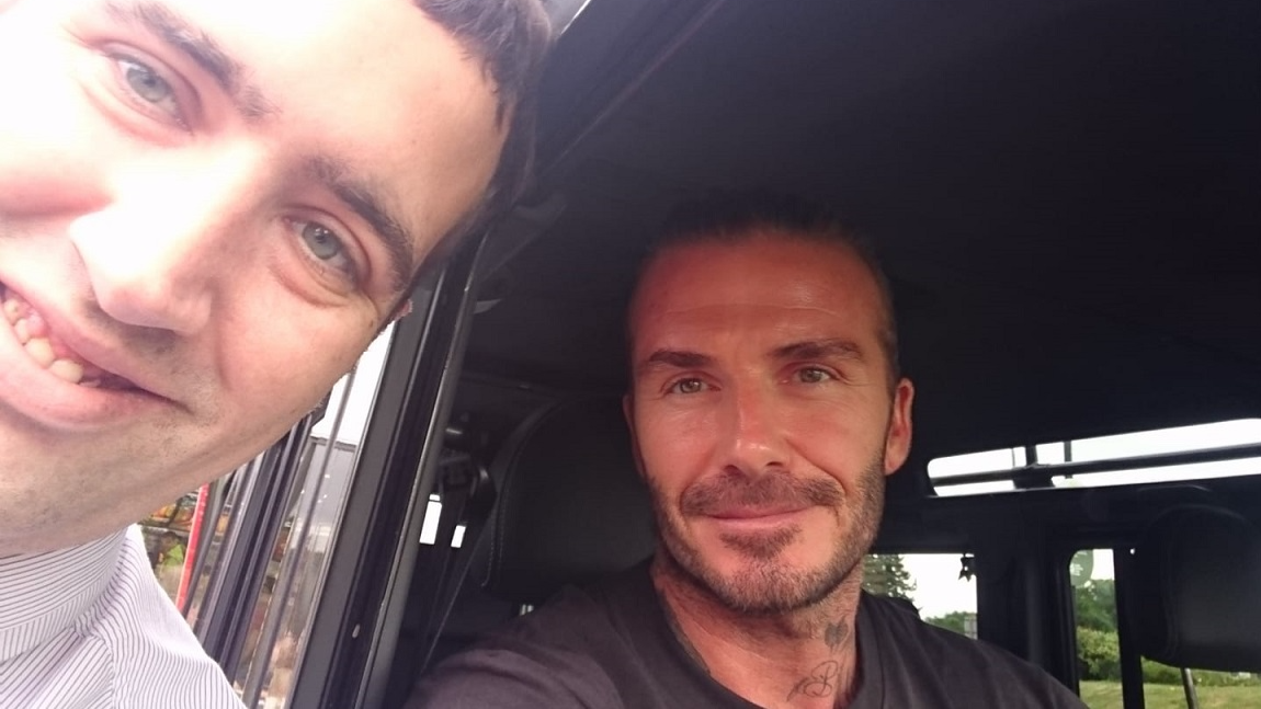 McDonald's Worker Reveals What David Beckham Orders At The Golden Arches