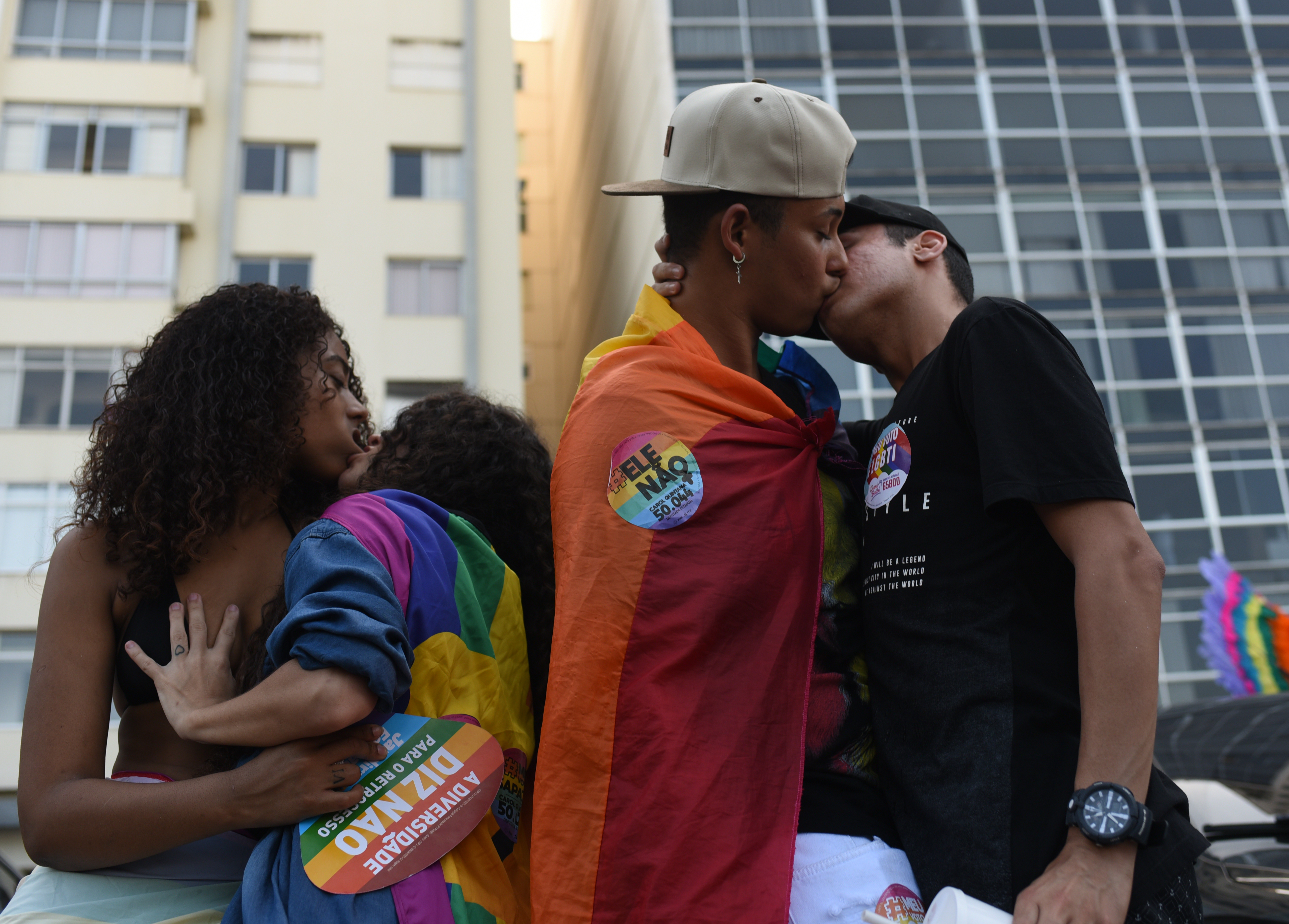 Brazil has voted to make homophobia and transphobia crimes. Credit: PA