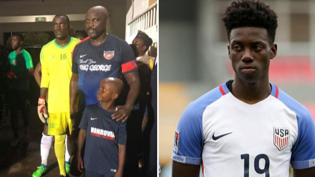 Liberian President George Weah Comes Out Of Retirement Against Nigeria Aged 51