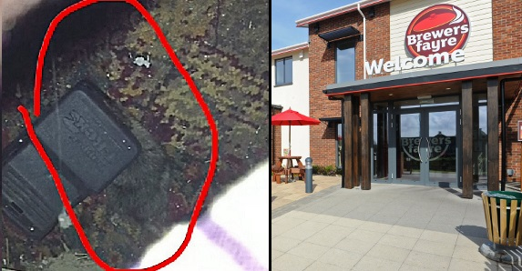 Man Drops His Phone At Restaurant And Makes Horrifying Discovery