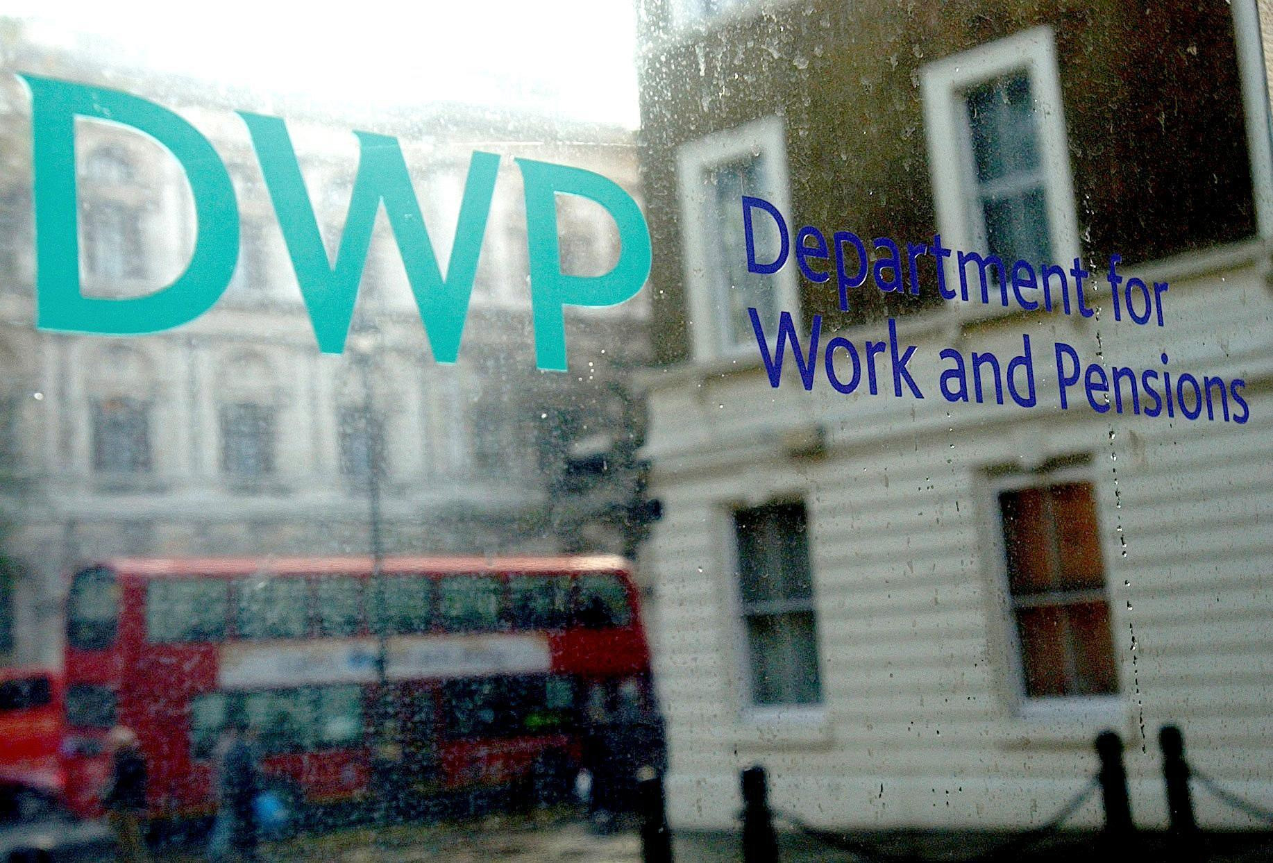 The DWP Operate The Universal Credit system. Credit: PA