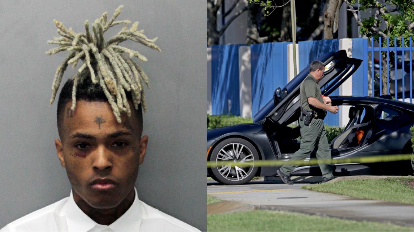 Rapper XXXTentacion Shot Dead At 20