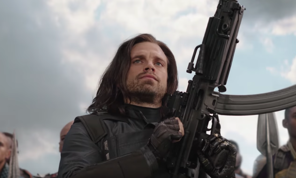 Stan Sebastian as Bucky Barnes. Credit: Marvel Studios