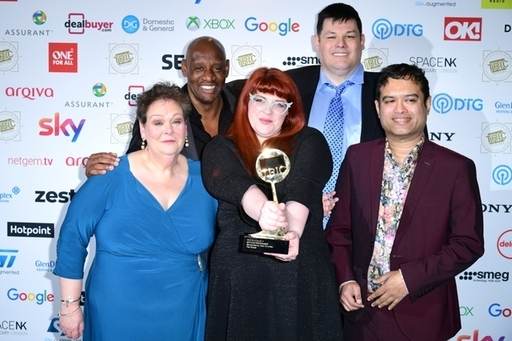 Anne with fellow Chasers: Shaun Wallce, Jenny Ryan, Makr Labbett, and Paul Sinha. Credit: PA