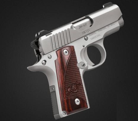 A Kimber .380 calibre.