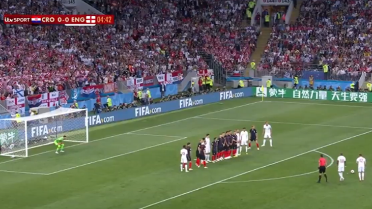 Watch: Kieran Trippier Opens Scoring Against Croatia With Stunning Free-Kick