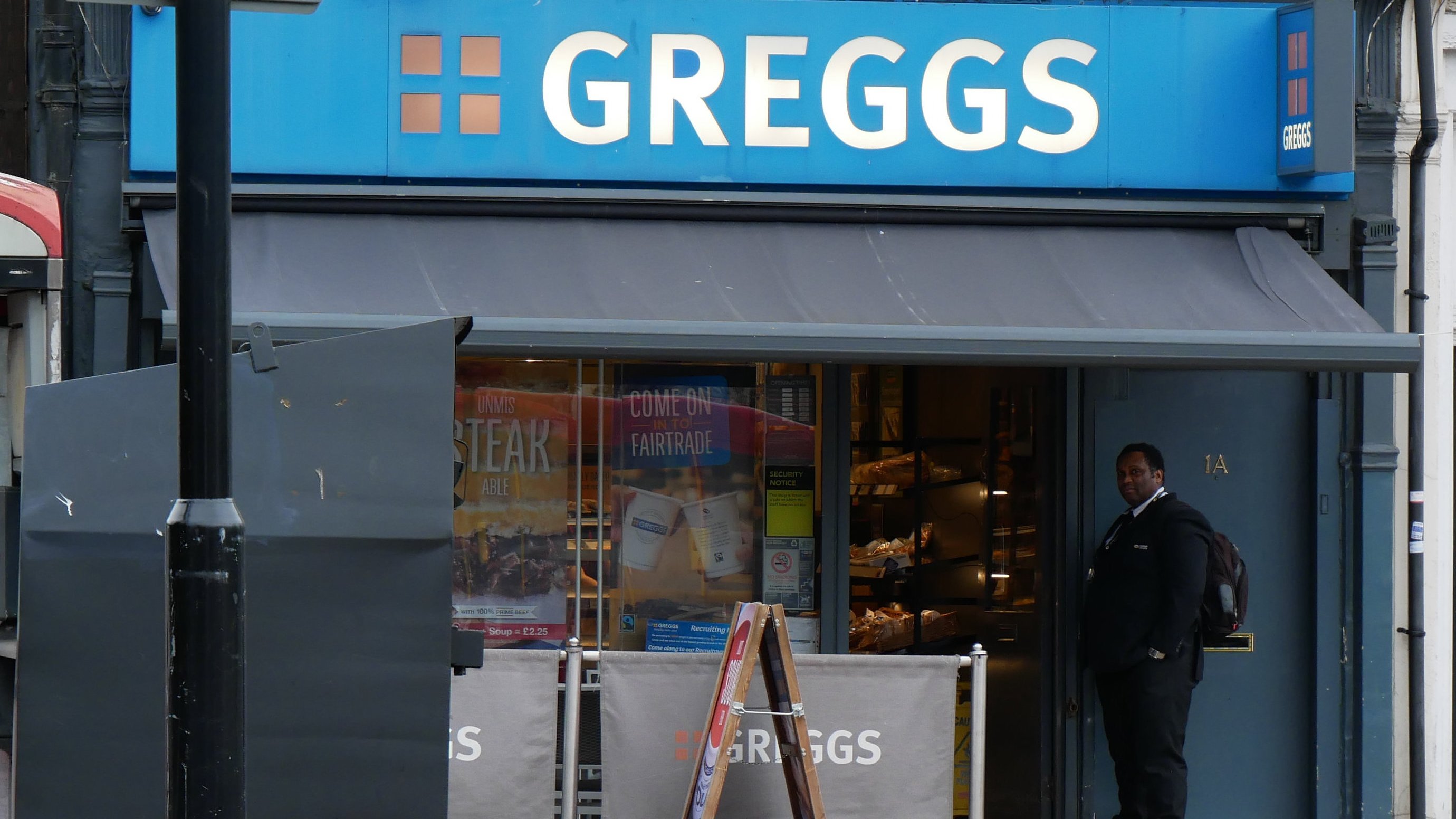 Greggs Has Started Employing Bouncers And People Can't Quite Believe It