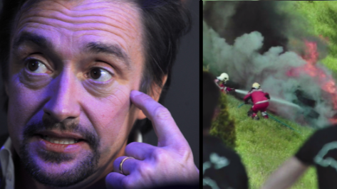'The Grand Tour' Airs Footage Of Richard Hammond's Horror Crash