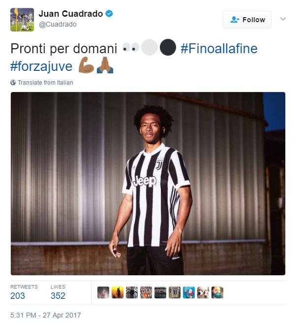 Divisa 2017/18 Juventus