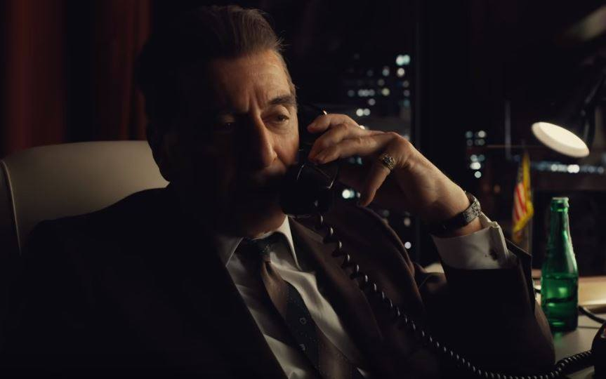 Irishman trailer serves De Niro at his most chilling