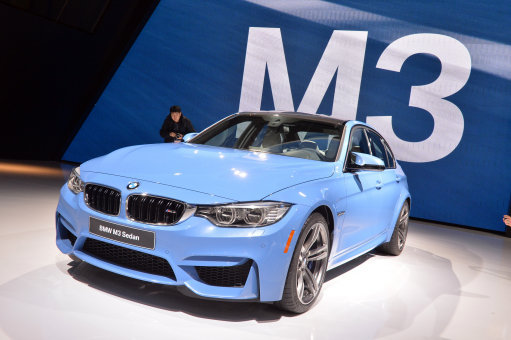 The BMW M3 Sedan - a car driven by dickheads, apparently. Credit: PA