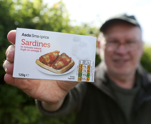 Here are the sardines Harty has been desperate for. Credit: Newcastle Chronicle