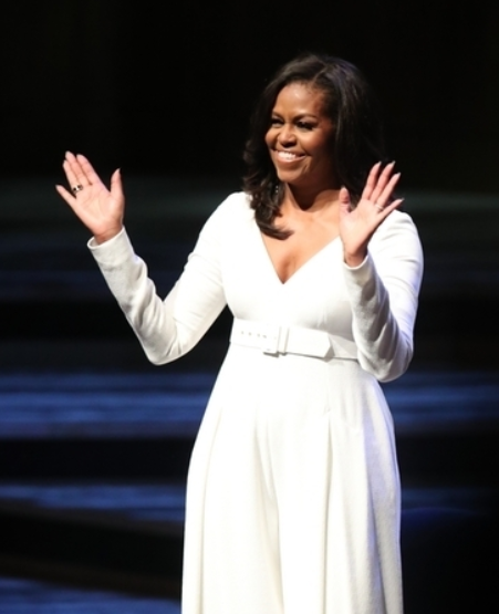 Michelle Obama named Most Admired Woman In America. Credit: PA
