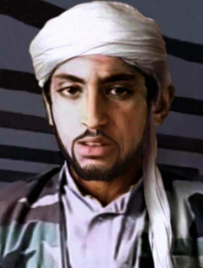 An impression of what Hamza might look like now, made using age progression technology. Credit: CBS