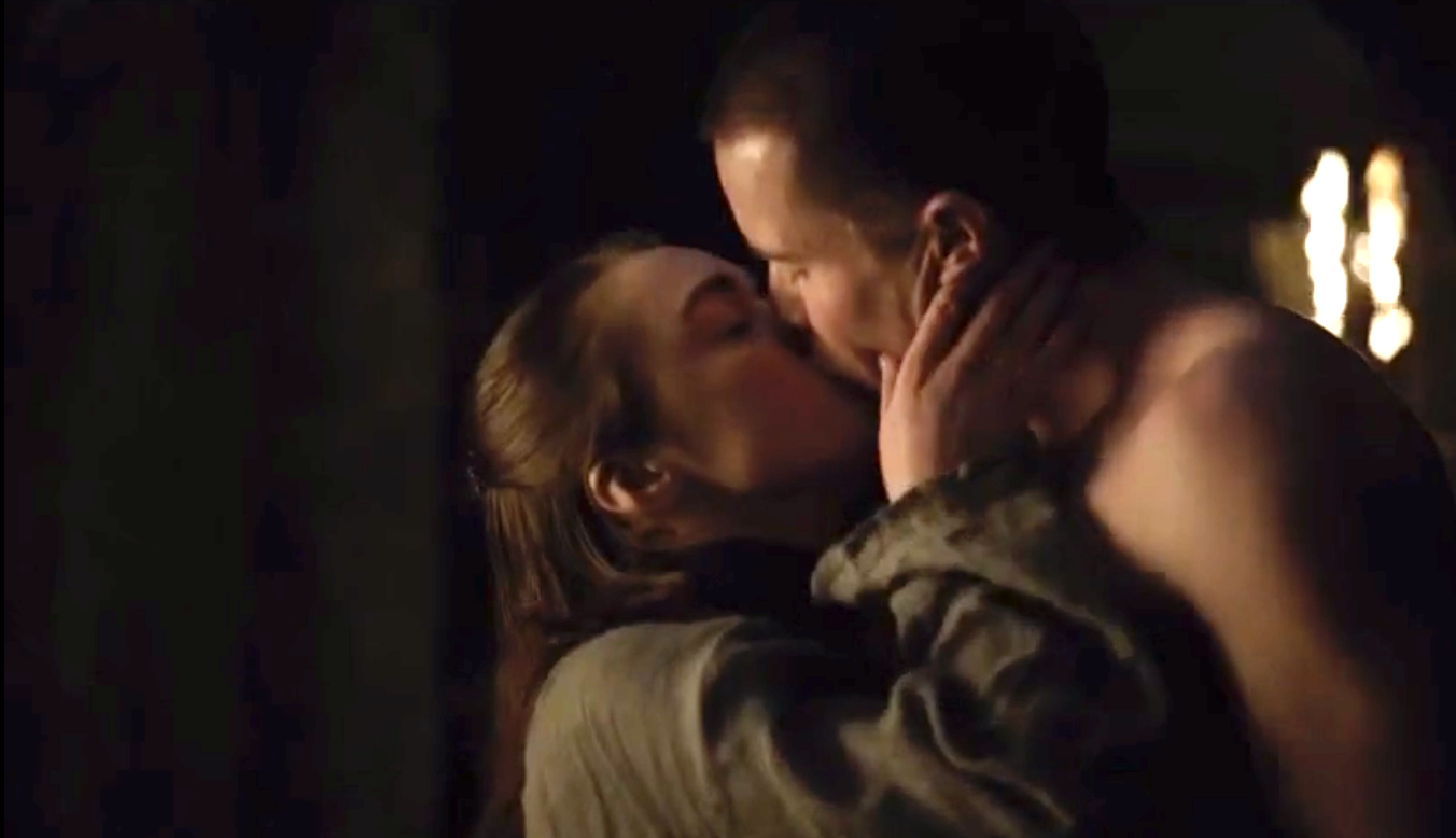 GoT fans have mixed reactions to Arya and Gendry's unexpected sex scene