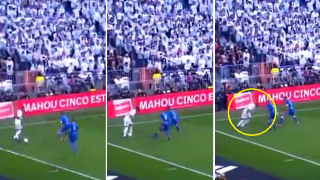 Real Madrid's Vinicius Junior Attempts Rainbow Flick, Goes Horribly Wrong
