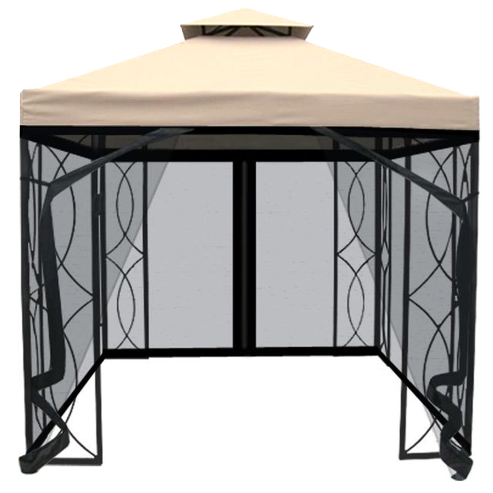£190 at Homebase buys you this lovely gazebo. Credit: Homebase