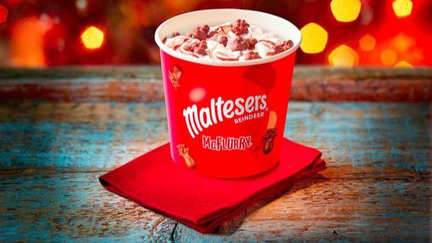 McDonald's Unveils New Festive Maltesers Reindeer McFlurry