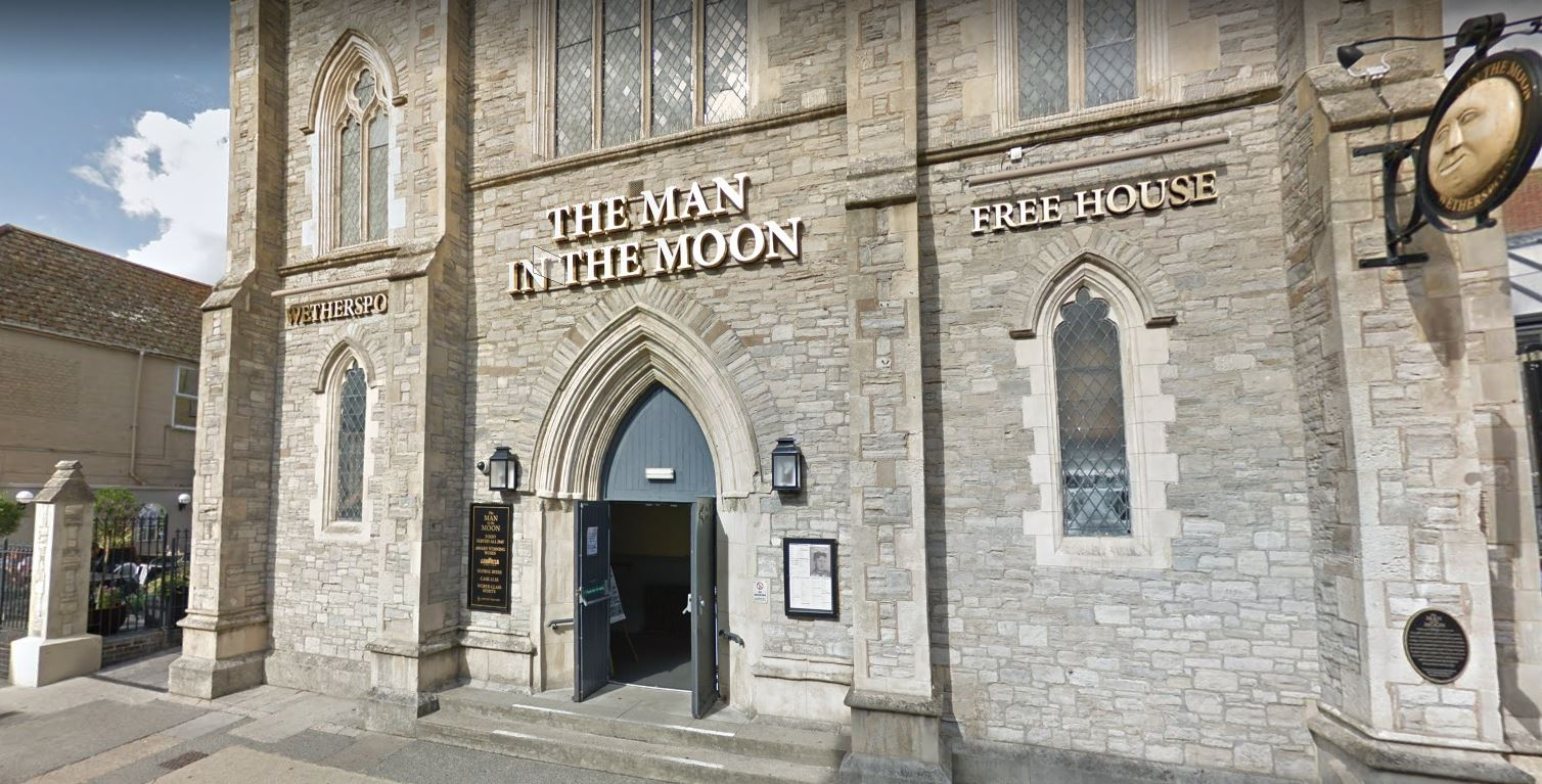 The Wetherspoon pub where the pair had their reception. Credit: Google Maps