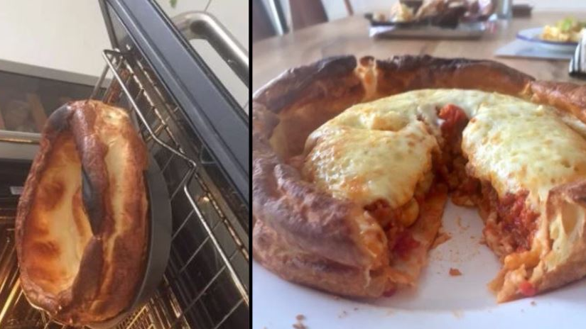 Bloody 'Eck LADs, Yorkshire Pudding Pizza Is Now A Thing