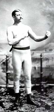 Bare knuckle Boxer