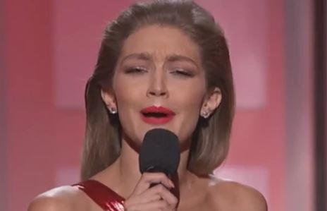 Model Gigi Hadid Mocks First Lady Melania Trump At American Music Awards
