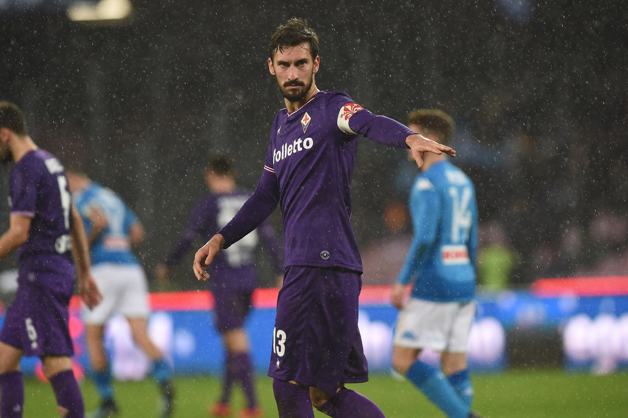 Top Italian football captain Davide Astori dies unexpectedly
