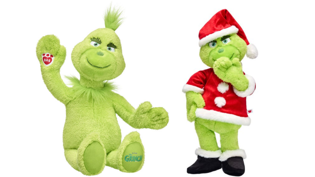 Build-A-Bear Launches Grinch Cuddly Toy Just In Time For Christmas ...