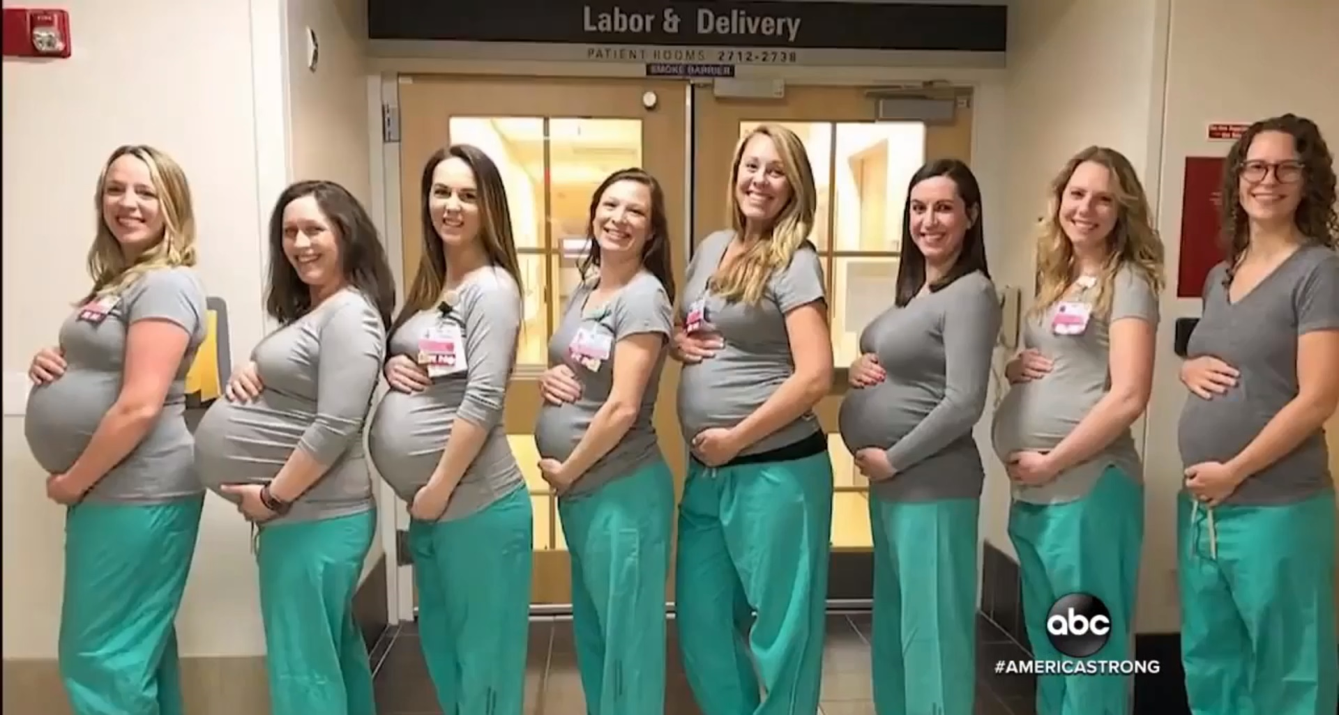 Nine Nurses In Hospital's Labor Unit Expecting Babies