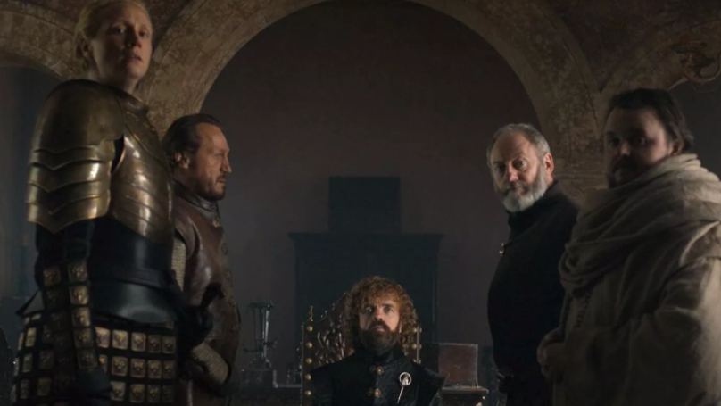 A still from the finale episode. Credit: HBO