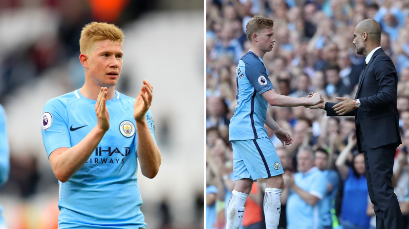 Pep Guardiola Reveals Kevin De Bruyne's Transfer Release Clause