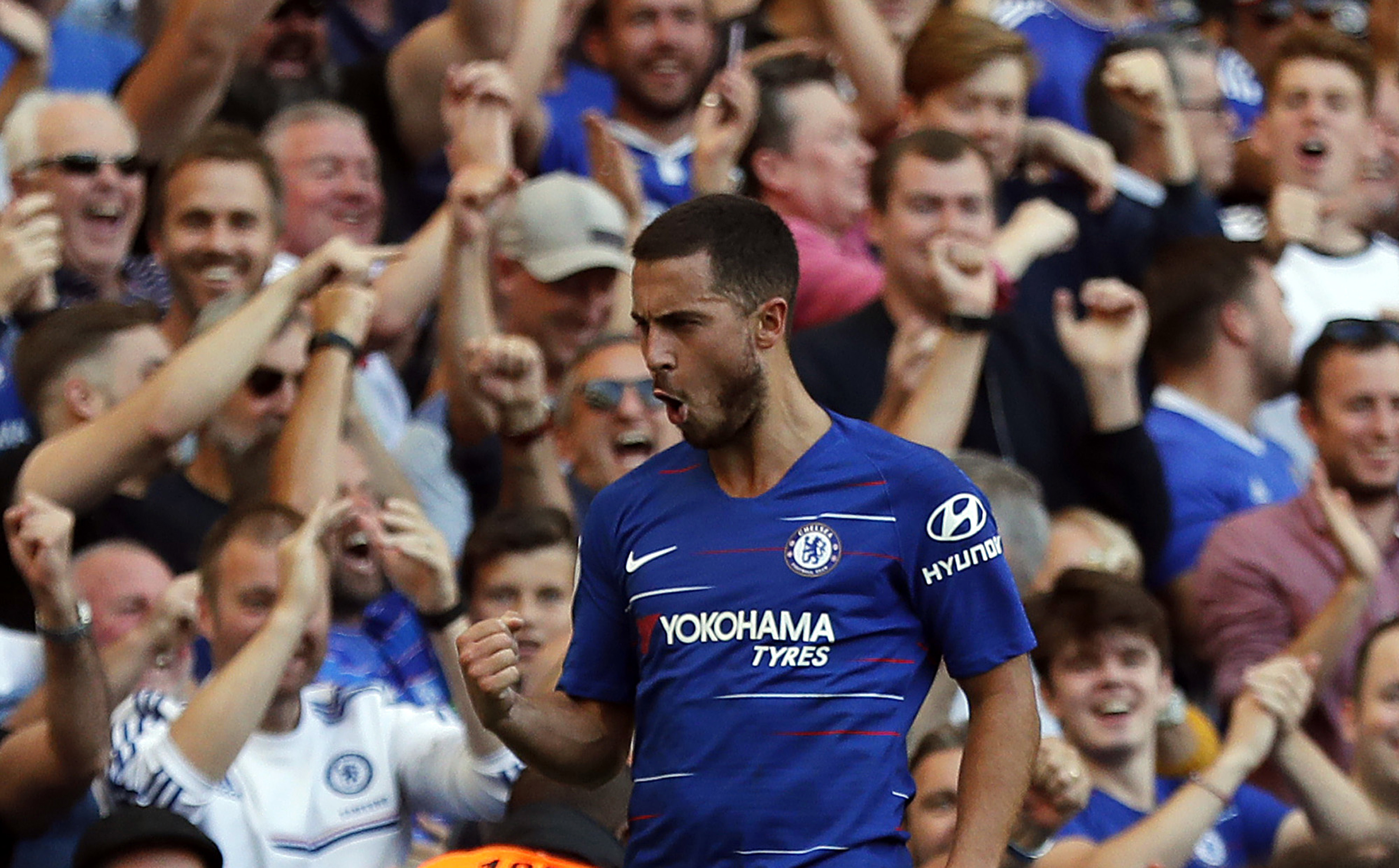 Antonio Rudiger: 'Eden Hazard is better than Cristiano Ronaldo'