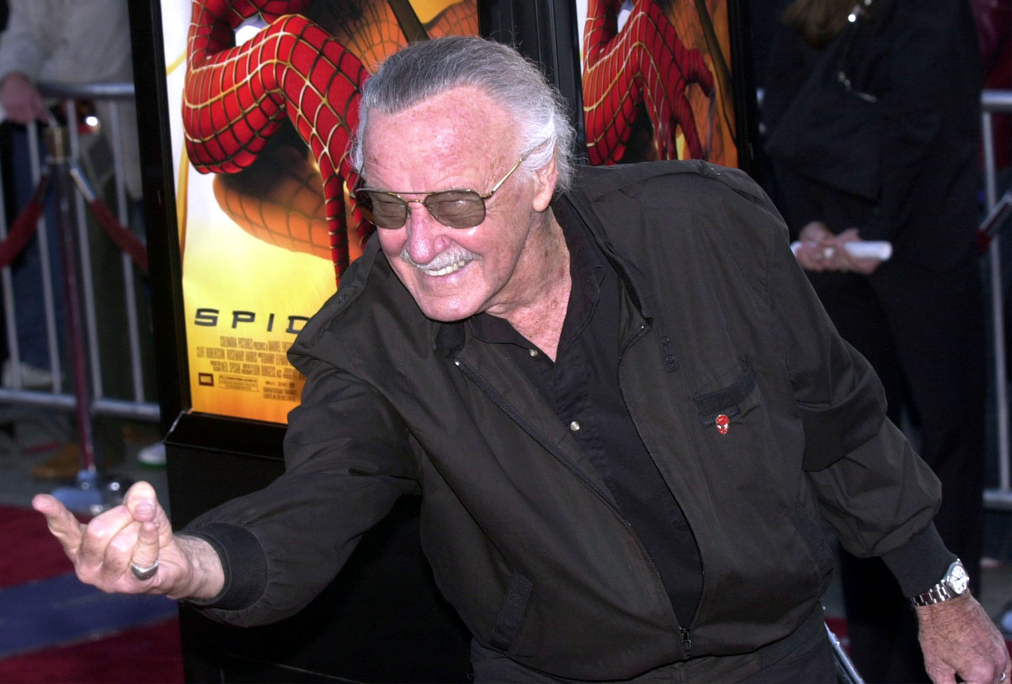 Stan Lee in 2002. Credit: PA