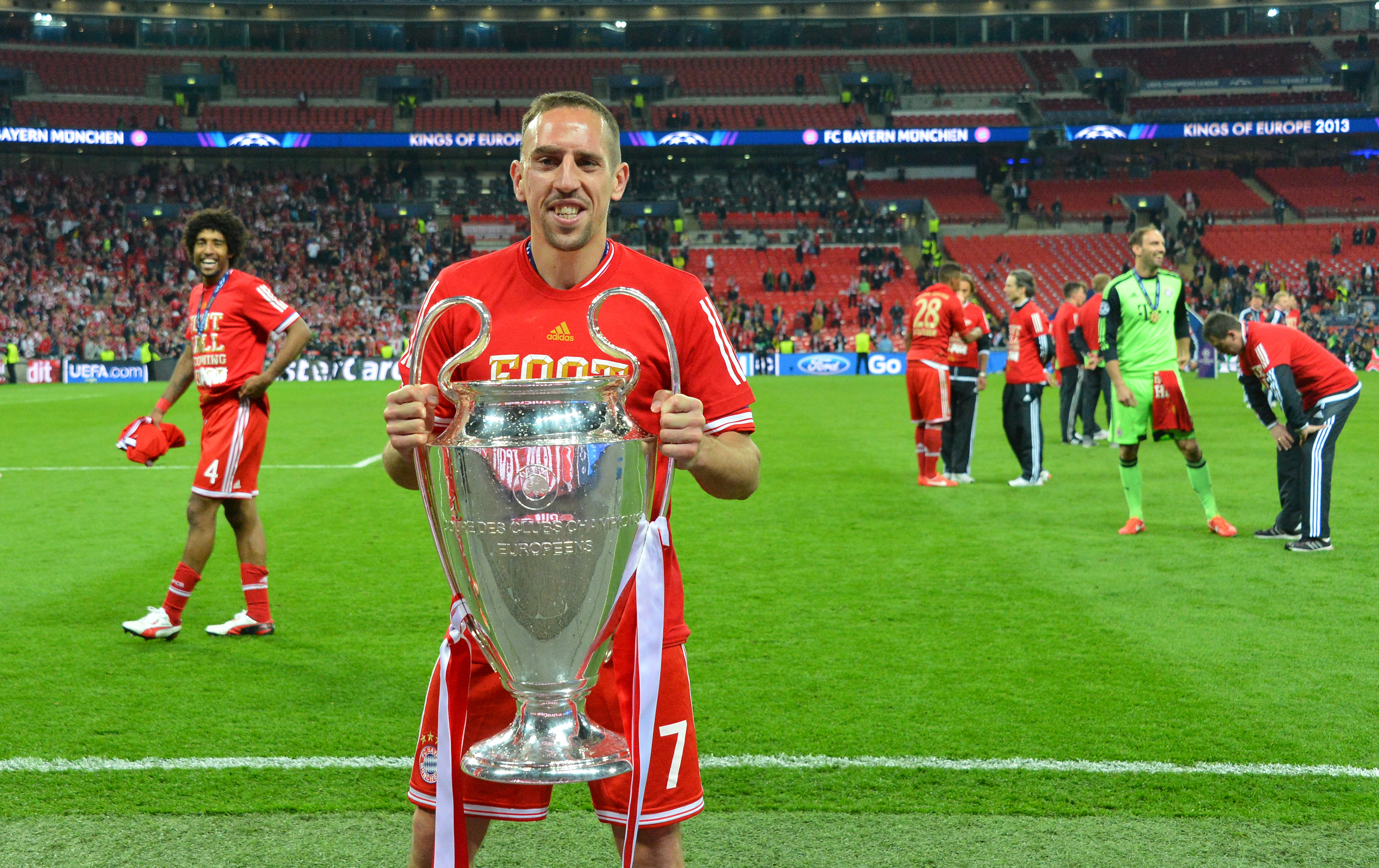 Ribery had a big year and came very close. Image: PA Images