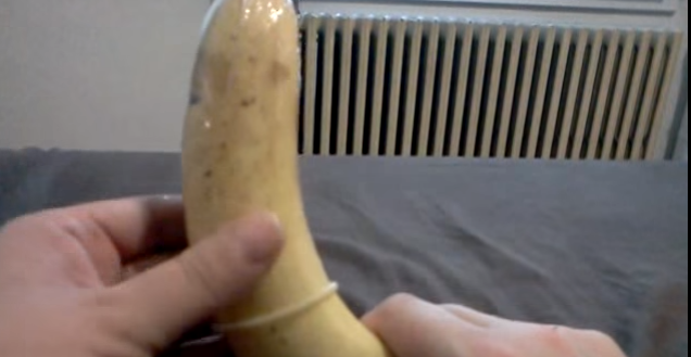 The trojan magnum condom on penis share