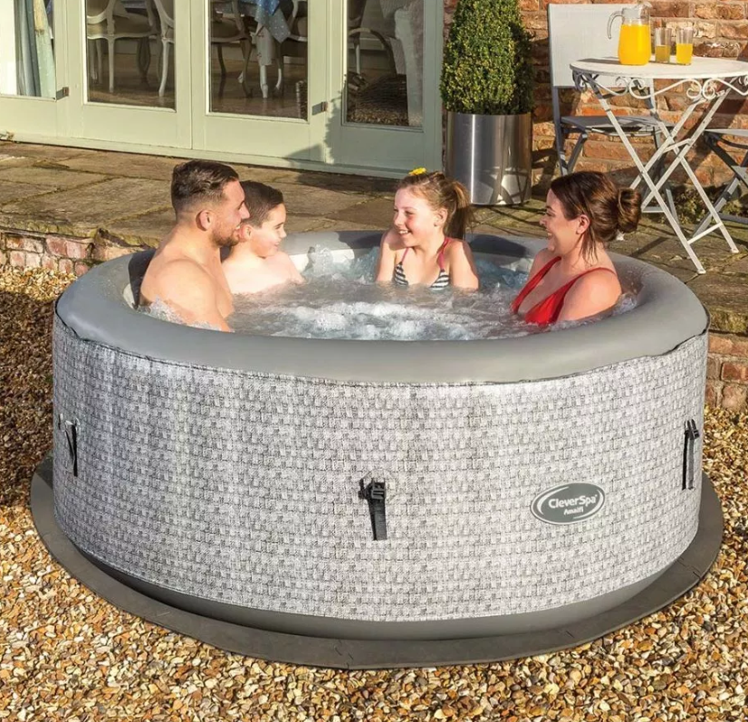 Tesco has slashed the price of its hot tub as part of its 100th anniversary celebrations. Credit: Tesco
