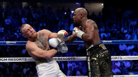 Mayweather About To Break A Billion Dollars After McGregor Fight