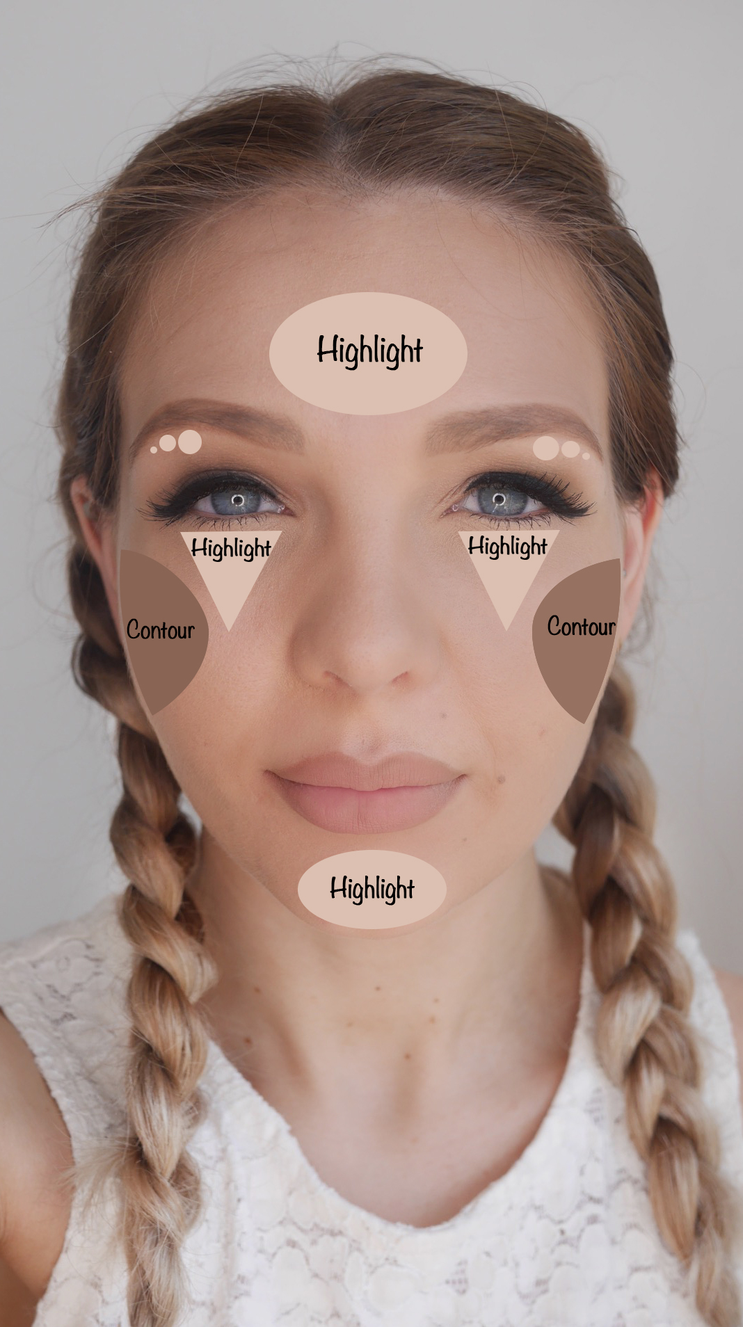 How To Contour And Highlight Correctly For Your Faceshape ...