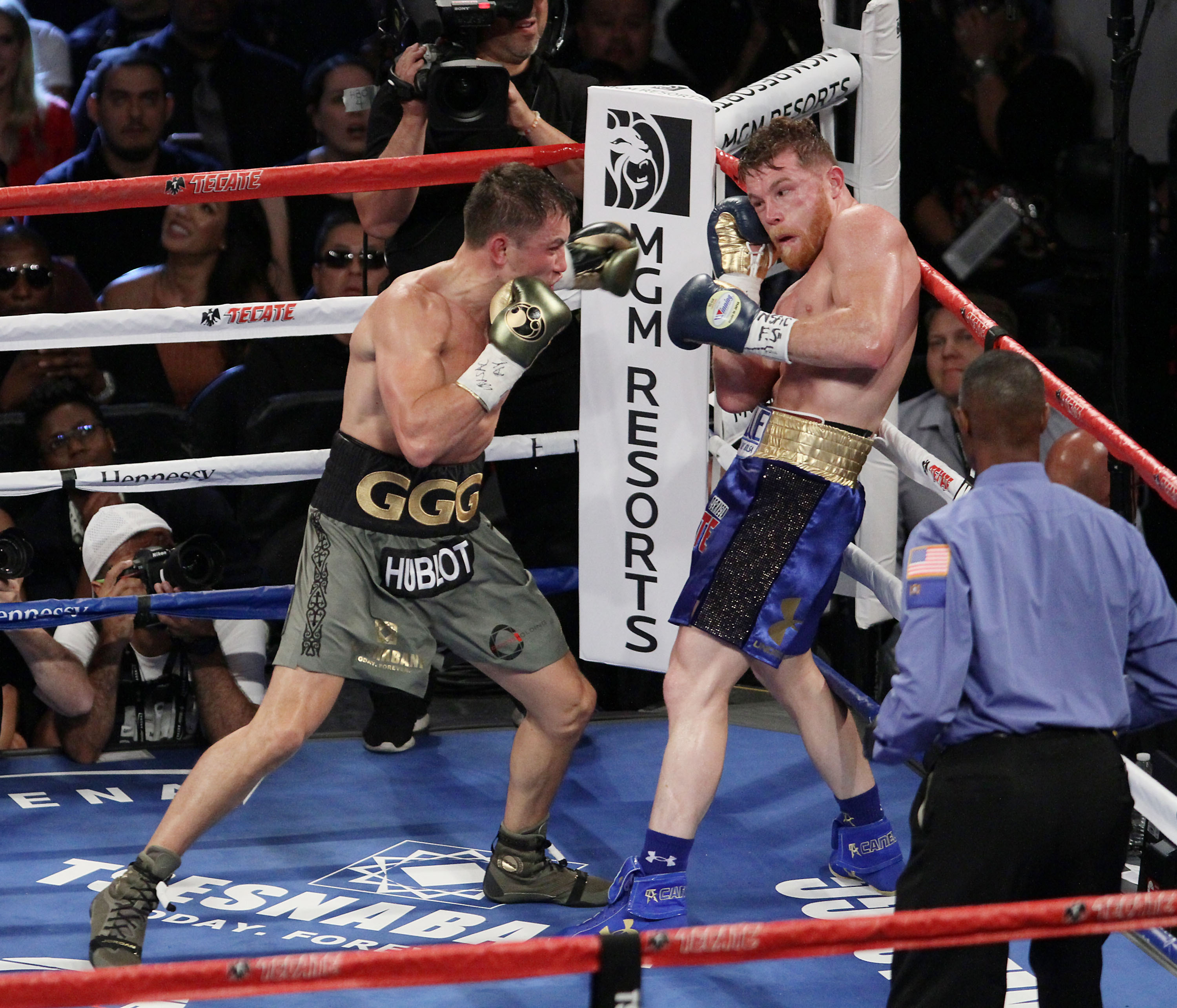 GGG Reacts To Canelo's Positive Test, Proves He's Hard As