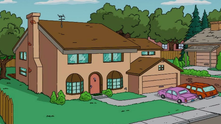 A Real-Life Version Of 'The Simpsons' House Exists And It's Uncanny