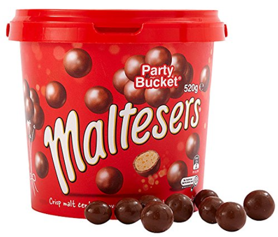 Why not just treat yourself to a party bucket of Maltesers? (Credit: Amazon)